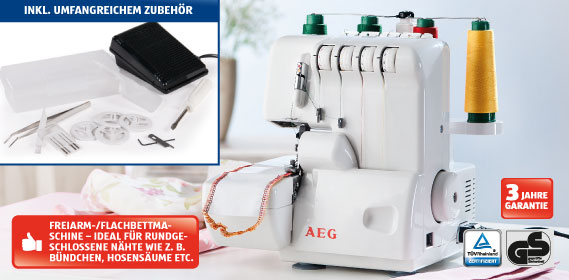 AEG-Overlock-Nähmaschine-Hofer
