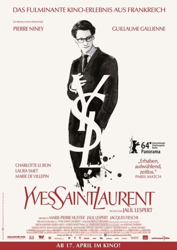 Yves-Saint-Laurent-Poster