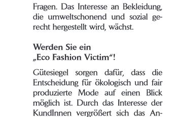eco fashion victim