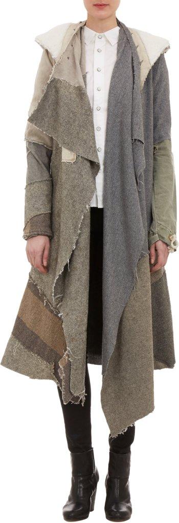 Mantel von Greg Lauren, Foto gefunden auf Pinterest, führt weiter auf (c) Barneys.com