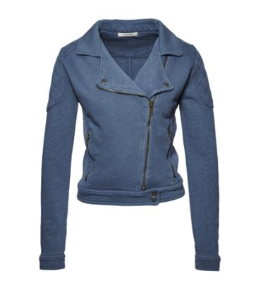 wunderwerk sweat biker jacket
